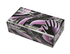 ADENNA SHADOW BLACK NITRILE EXAM GLOVES BLACK EXTRA LARGE XL