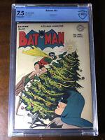 Batman #33 (1946) - Penguin App!!! - CBCS 7.5!!! (Not CGC) - Christmas Cover!!!