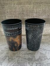 7/11 Terminator Salvation Movie 2009 3D Slurpee Cup TERMINATOR- Fast shipping