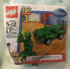 LEGO Toy Story 30071 Army Jeep & Soldier SEALED Green Army Minifigure 2010 Pixar