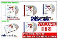 Internet Marketing Musik Paket V1-V5 - 272 MP3s für Webseiten Videos Werbung MRR