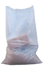 More details for strong clear duty polythene rubble sacks- 24 x 36