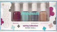 essie SPRING Collection 4-pc Mini Nail Polish Set~ flowerista blossom petal chic