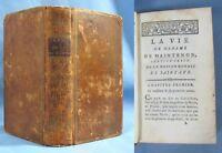 La Vie de Mme De MAINTENON / Buisson éditeur en 1786