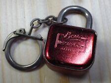Porte clé ancien vintage année 60-70 cadenas BOSS porte clef / D21
