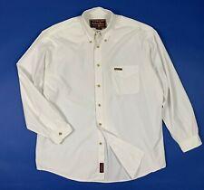 Marlboro classics camicia bianca uomo usato XL shirt manica lunga cotone T5744