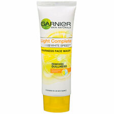 Garnier White Complete Double Action Face Wash 100 ml free shipping best results