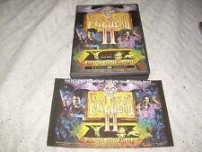 Evil Dead II DVD with insert