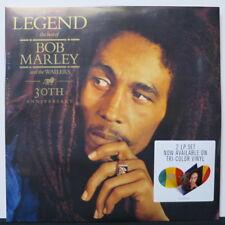 BOB MARLEY & THE WAILERS 'Legend' Ltd. Edition Tri-colour Vinyl 2LP NEW/SEALED