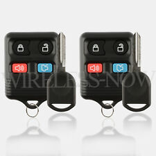2 Car Fob Keyless Entry Remote For 2005 2006 2007 2008 2009 Ford Mustang + Key