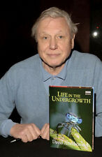 David Attenborough ‏ 10x 8 UNSIGNED photo - P272 - Book Launch