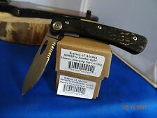 "KNIVES OF ALASKA 4.18"" CLOSED D2 BLADE FEATHERLIGHT HUNTER SUREGRIP 906FG MUST C"