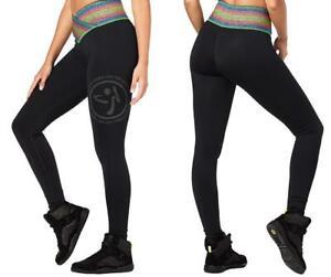 Zumba Fitness Inspire High Waist Long Leggings - Bold Black