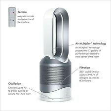 Dyson Pure Hot+Cool, HP01 10-Speed (Covers: 800 Sq.-ft) Hepa White Air Purifier