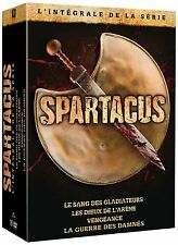 Spartacus BOX 1 2 3 4 Komplette Serie War of the damned DVD DEUTSCH 100% UNCUT