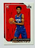 2018-19 NBA Hoops Shai Gilgeous-Alexander RC #262, Clippers Rookie!