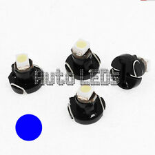 1 Blue SMD LED T3 Neo Wedge 12v Interior LED Bulb