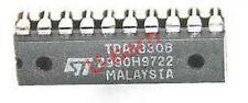 ST TDA7330B   SINGLECHIP RDS DEMODULATOR + FILTER