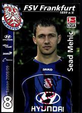 Sead Mehic FSV Frankfurt 2008-09  Original Signiert + A 78334
