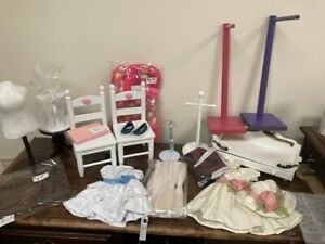 HUGE LOT!FACTORY 2ND Clothing,Accessories, Furniture Fits American Girl Doll