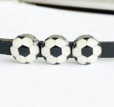2Pc Soccer Tibetan Silver Tone Pendant  Charms Pendants 24x15mm