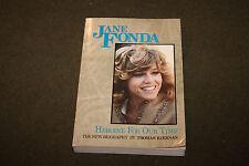 Jane Fonda Heroine For Our Time by Tomas Kiernan 1982 Trade Paperback 1st Ed.
