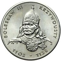 Gedenkmünze Polen - 50 Zlotych 1982 - BOLESLAW III KRZYWOUSTY - Stempelglanz UNC