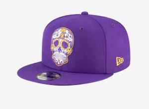 New Era Los Angeles Lakers 9Fifty 950 Sugar Skull Hat Snapback- Exclusive!!!