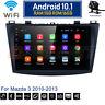 Android 10.1 Car Wifi DVD Radio Stereo GPS Navi BT Player For Mazda 3 2010-2013