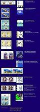 Plattenfehler - 10 Paare Bund** mit Vergleichsstück, postfrisch Luxusqualität #2