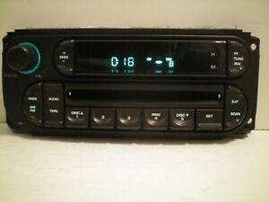 02+CHRYSLER TOWN&COUNTRY/DODGE(GRAND)CARAVAN/DAKOTA/NEON CD PLAYER RADIO/STEREO