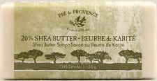 Pre de Provence, 20% SHEA BUTTER BUERRE de KARITE (150g /5.2oz) Body Care Soap -