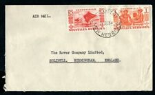 New Hebrides - 1954 Airmail Cover to England