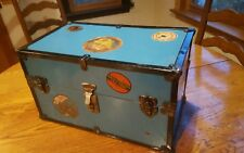 Vintage antique baby doll carrying case suitcase wardrobe barbie travel case