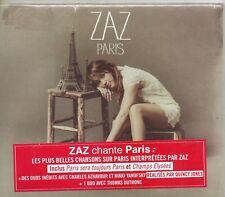 CD DIGIPACK 13T ZAZ  LES PLUS BELLES CHANSONS SUR  PARIS   NEUF SCELLE DE 2014