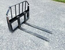 48 Pallet Forks Us Made Skid Steer Quick Attach See Details Shipping Available
