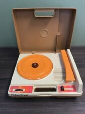 Vintage 1978 Fisher Price Record Player Turntable Toy Very Good Toys
