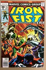 IRON FIST #15 X-MEN (1977) FIRST SERIES -1ST APP BUSH MASTER-BYRNE VF-