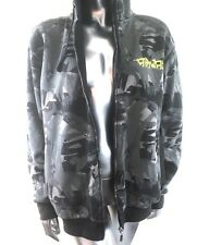 Airwalk Hoodie Camouflage Thickly Lined Zippered  Size Medium