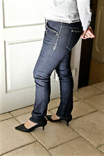 jeans slim brut HIGH USE gun taille 44 (I 48) NEUF ÉTIQUETTE valeur 390€
