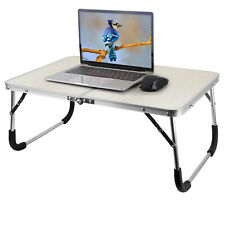 New listing Portable Laptop Table Bed Tray Desk Foldable Leg Sofa Notebook Computer Stand Us