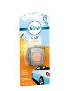 Lot of 2 Febreze Car Vent Clip Air Freshener-Fresh-Fall Pumpkin-Holiday scent