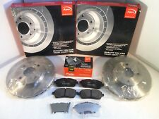 Ford Fiesta Mk7 Front Brake Discs and Pads Set 2008-Onwards *GENUINE APEC OE*