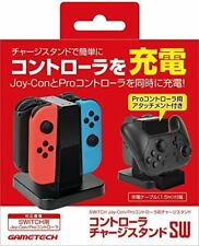 New Charging Dock Station for Nintendo Switch Joy-cons & Pro-controller Black