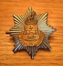 An old original, West Hartlepool  Fire Brigade, cap badge.