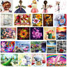DIY 5D Flower Beayty Diamond Embroidery Painting Cross Stitch Craft Home Decor