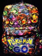 Pokemon Logo Multi Color Canvas Sports Messenger School Backpack Bag