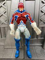 "Marvel Legends Giant Man Baf Series Captain Britain 6"" Action Figure ToyBiz 2"