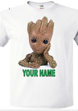 baby groot personalized birthday t-shirt