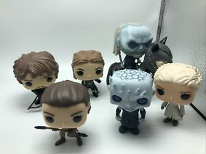 """Funko pop Lot of 6 """"Game Of Thrones"""" Pop Figures only NO BOXES"""